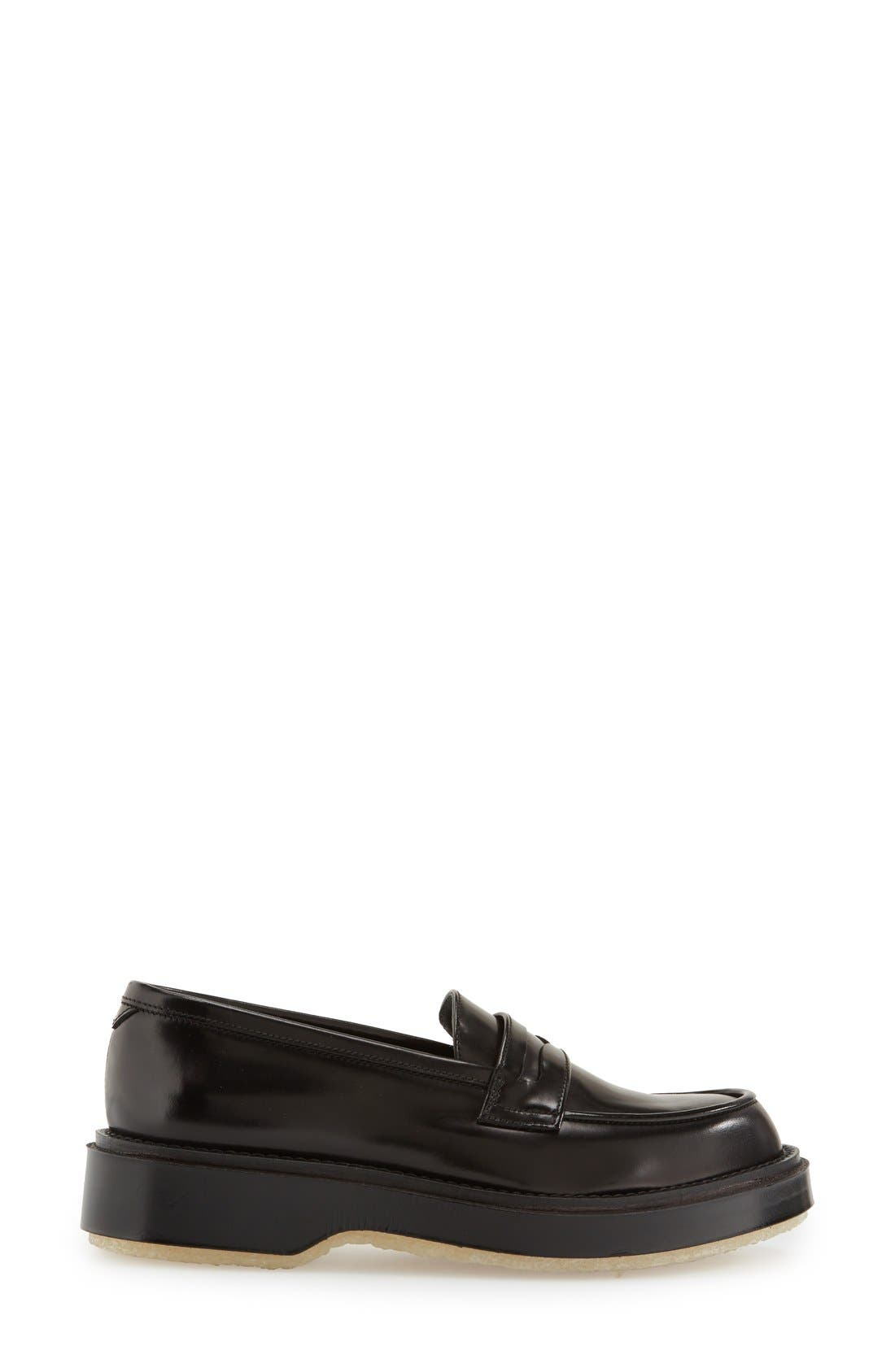 Alternate Image 4  - Adieu Calfskin Leather Penny Loafer (Women)