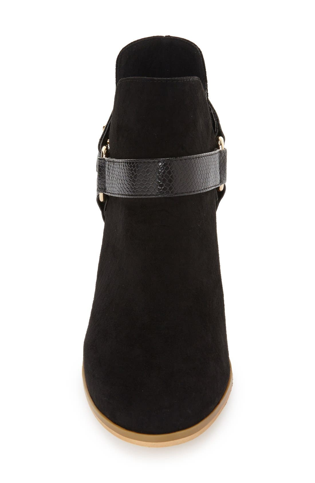 Alternate Image 3  - Topshop 'Beckley' Ring Strap Bootie (Women)