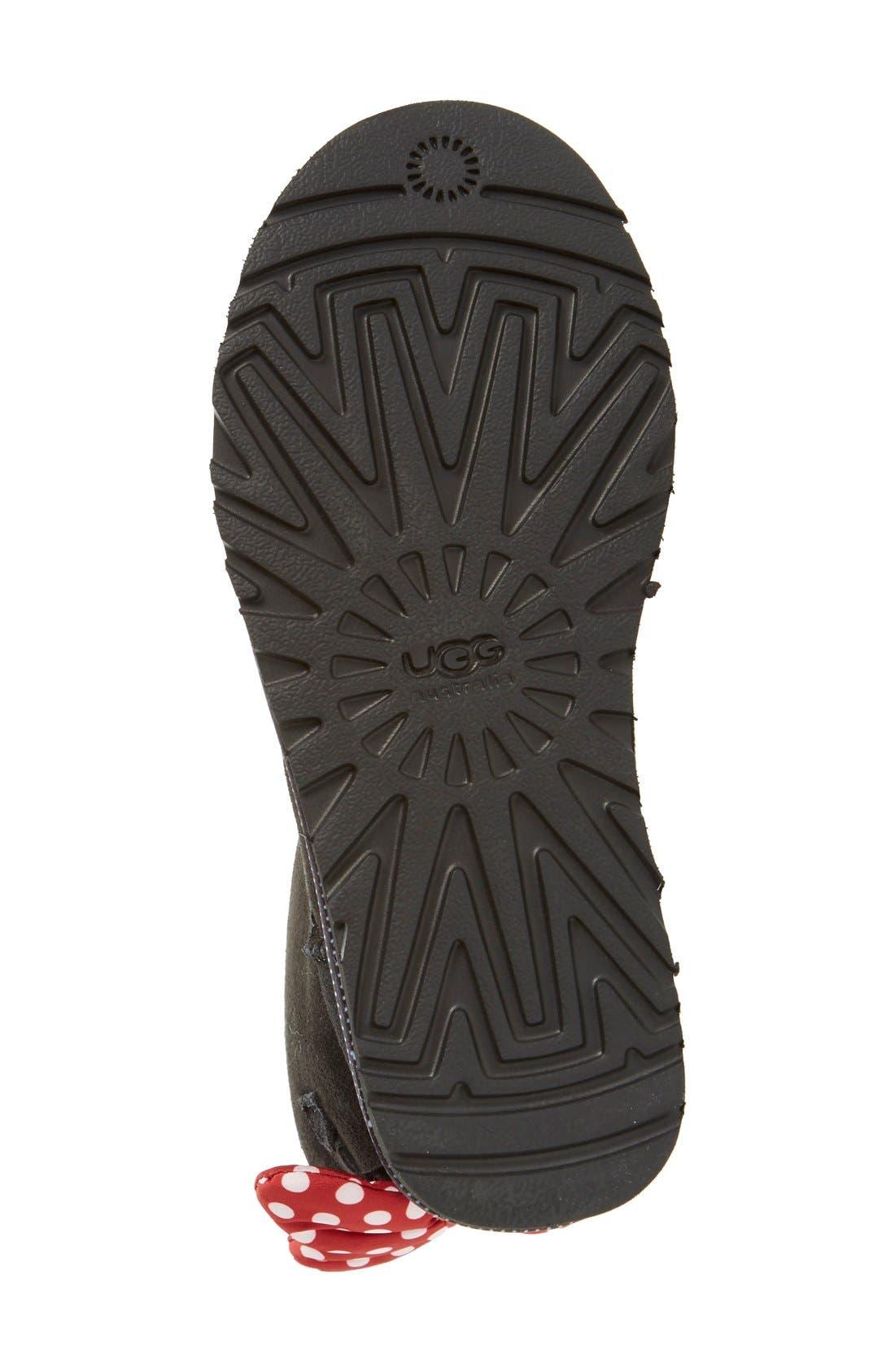 Alternate Image 4  - UGG® Disney® 'Sweetie Bow' Boot (Women)
