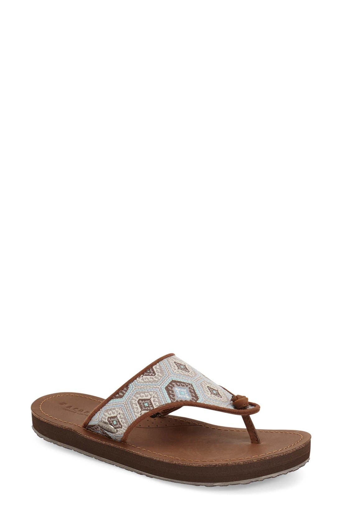 Acorn 'Artwalk' Flip Flop (Women)