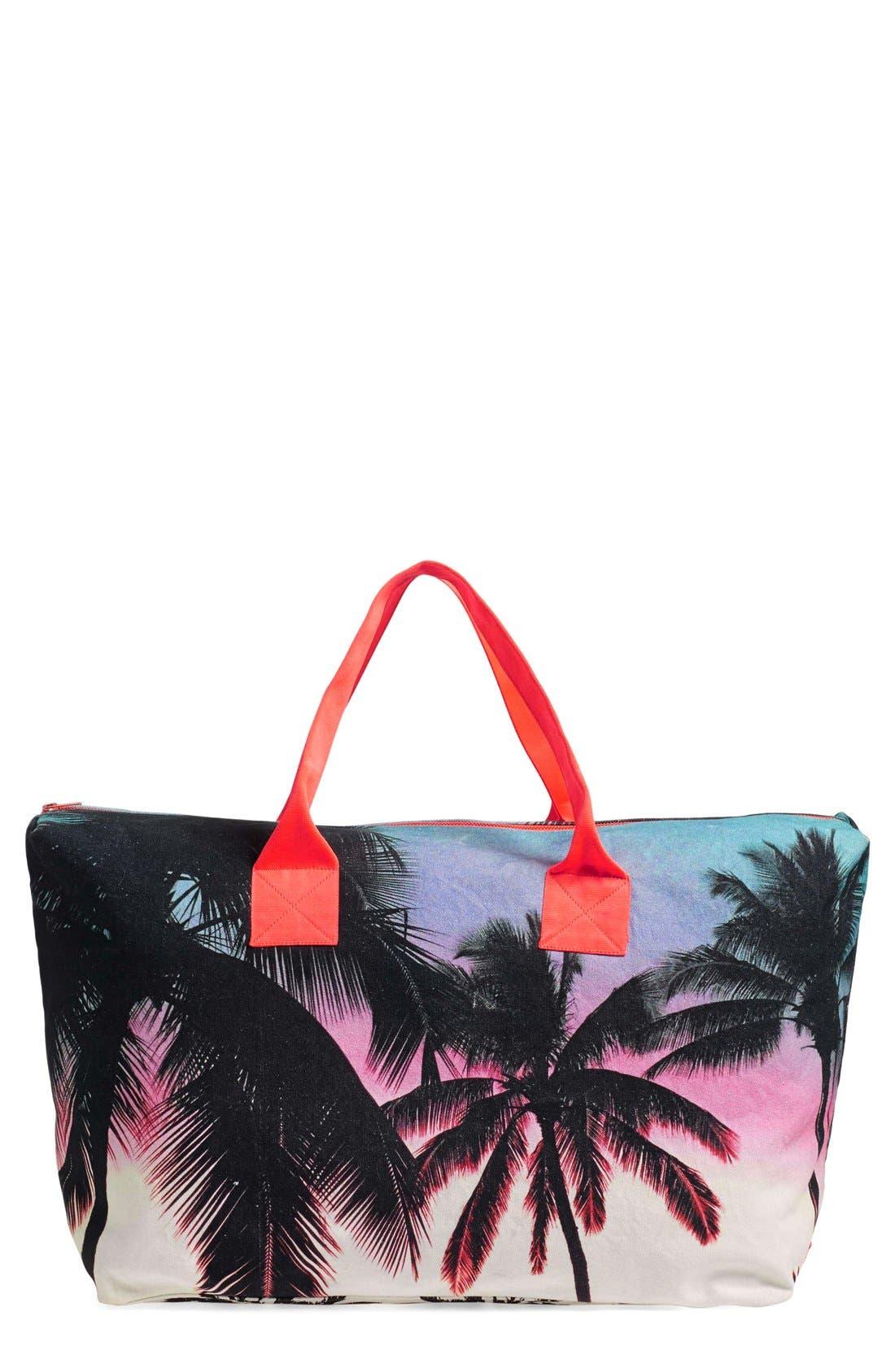Main Image - Samudra 'Makaha Sunset' Canvas Weekend Bag