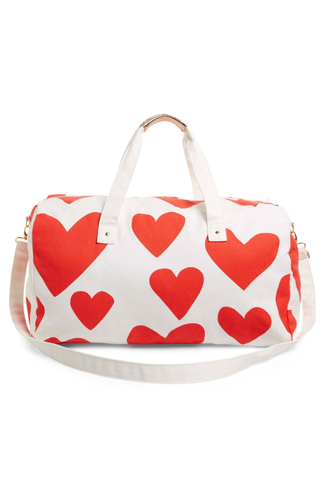 Alternate Image 3  - ban.do 'Extreme Hearts' Canvas Duffel Bag