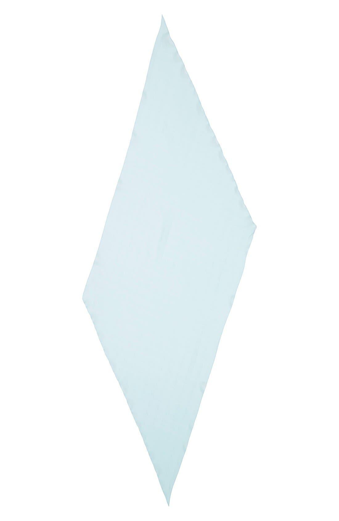 Alternate Image 2  - MCM Logo Silk Scarf