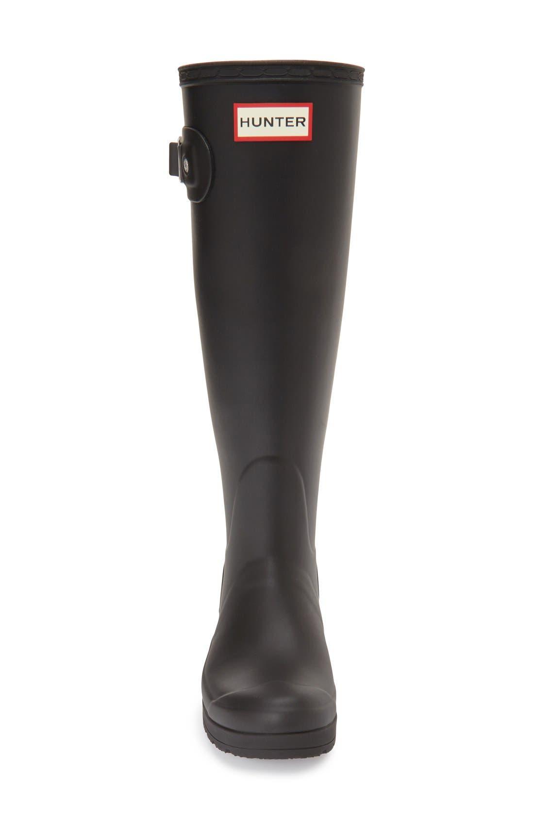 Alternate Image 3  - Hunter 'Original Tall- Wedge' Rain Boot (Women)