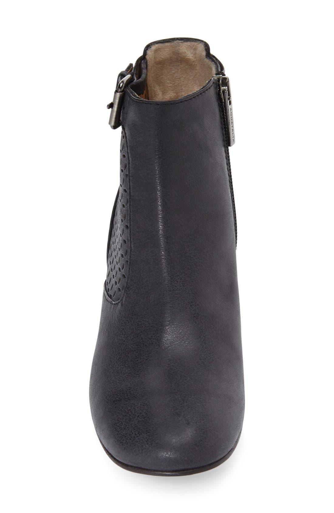 Alternate Image 3  - Aquatalia 'Francie' Weatherproof Perforated Bootie (Women)