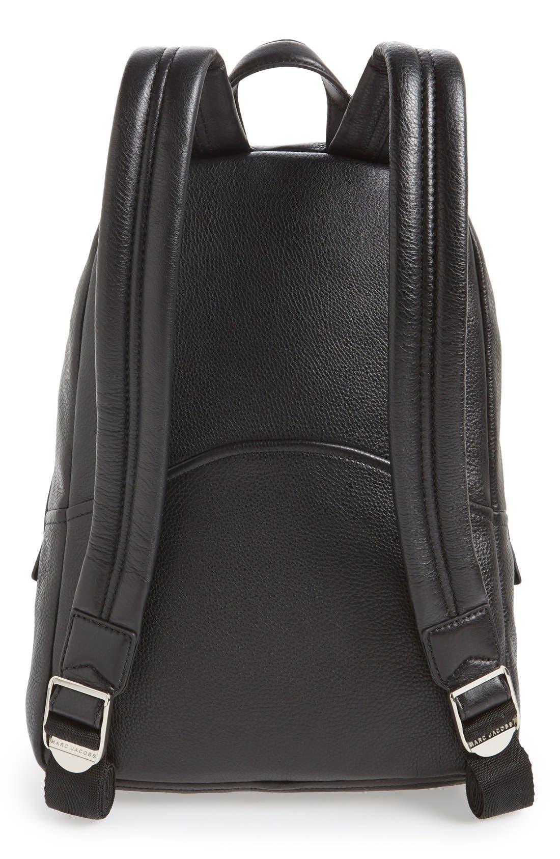 Alternate Image 3  - MARC JACOBS Large Biker Leather Backpack