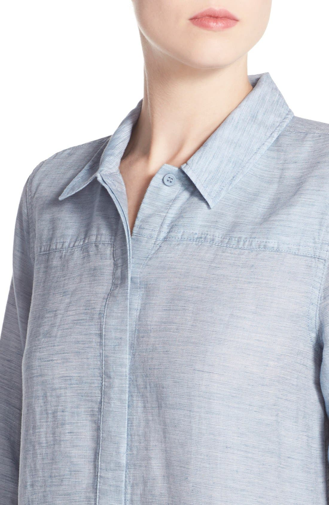 Alternate Image 5  - French Connection Chambray Shirtdress