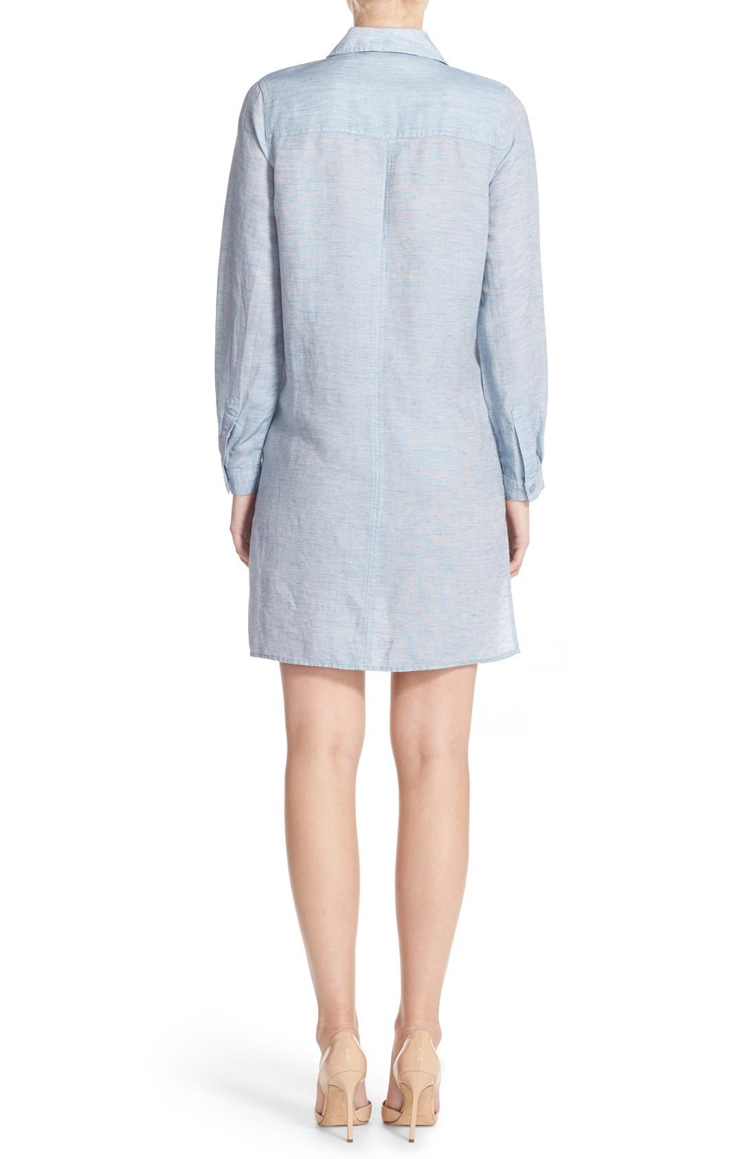 Alternate Image 2  - French Connection Chambray Shirtdress