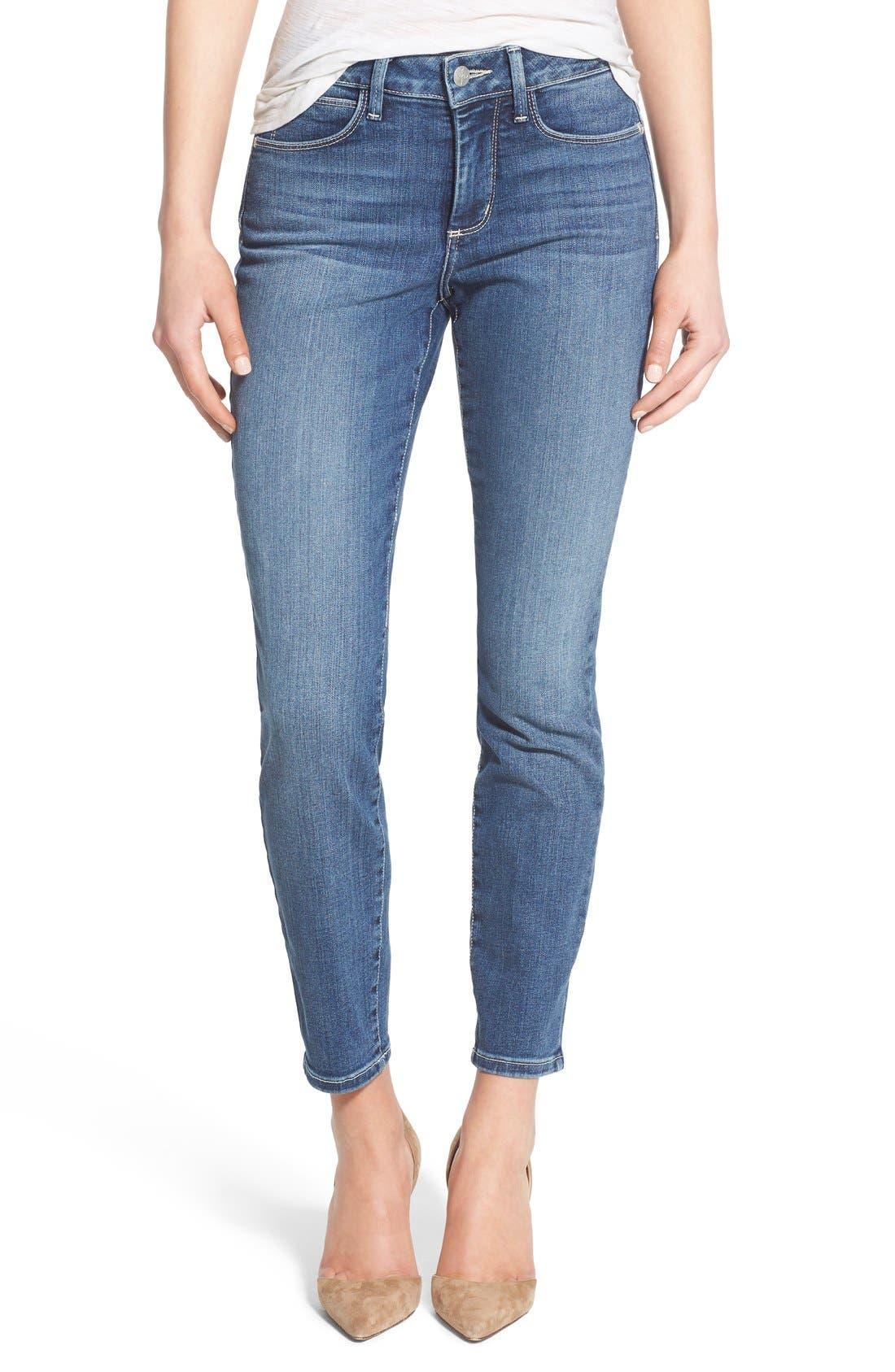 Alternate Image 1 Selected - NYDJ 'Clarissa' Stretch Ankle Skinny Jeans (Heyburn) (Regular & Petite)