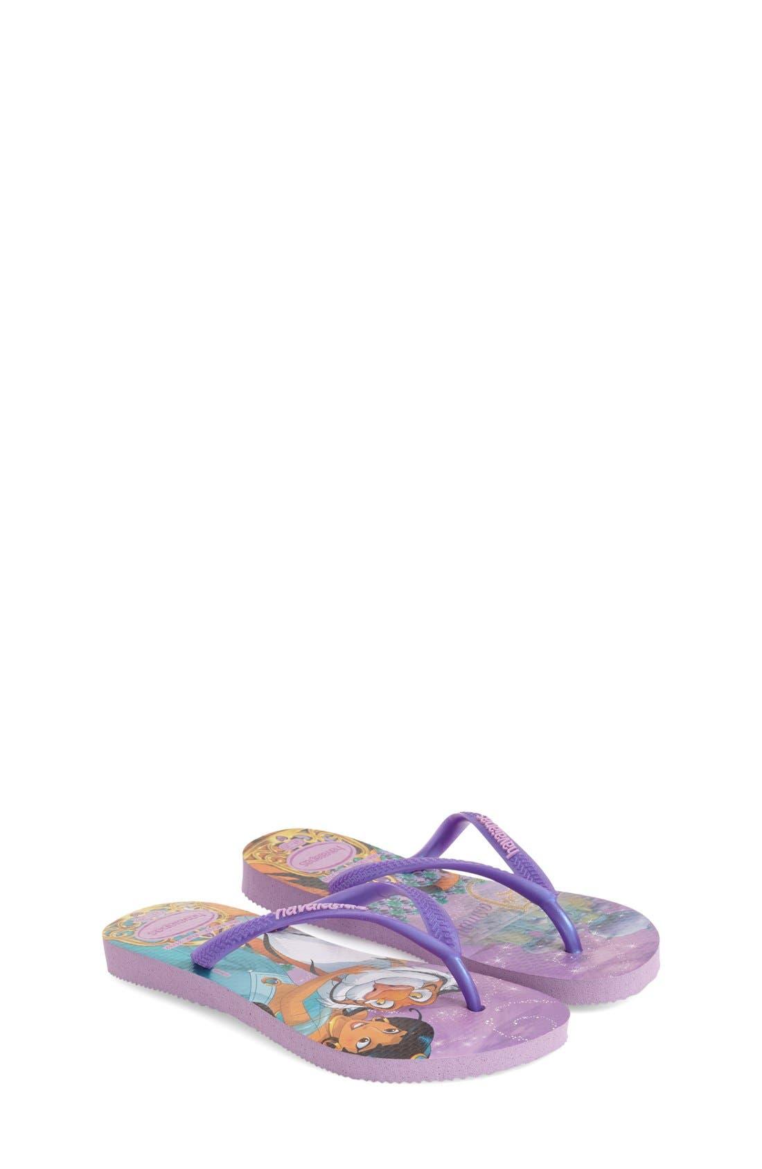 Alternate Image 4  - Havaianas 'Disney Princess' Flip Flops (Toddler & Little Kid)