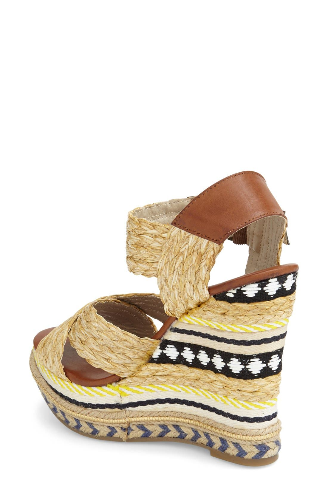 Alternate Image 2  - MIA 'Fareena' Platform Wedge Sandal (Women)