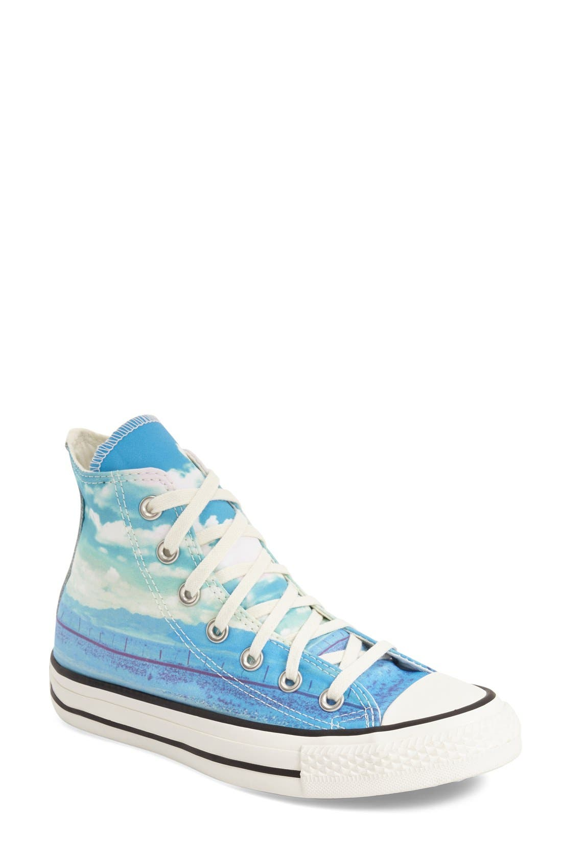 Alternate Image 1 Selected - Converse Chuck Taylor® All Star® 'Photo Sun' High Top Sneaker (Women)