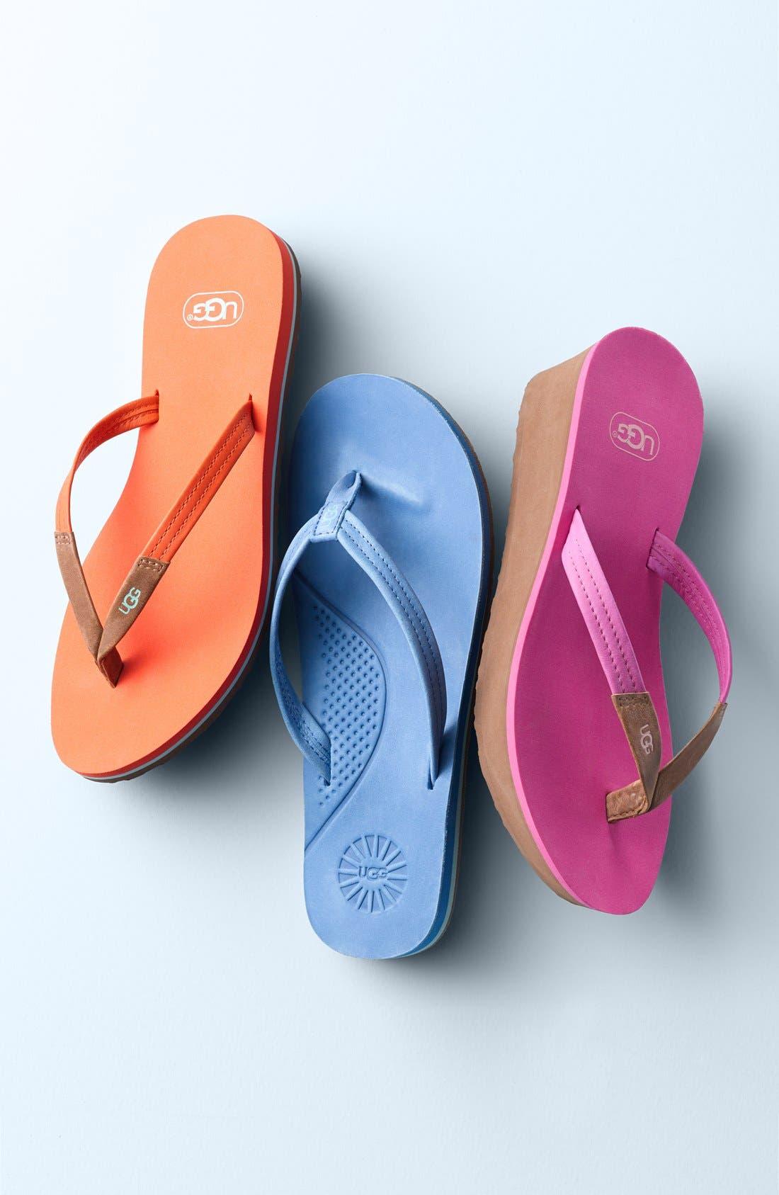 Alternate Image 5  - UGG® 'Kayla' Thong Sandal (Women)