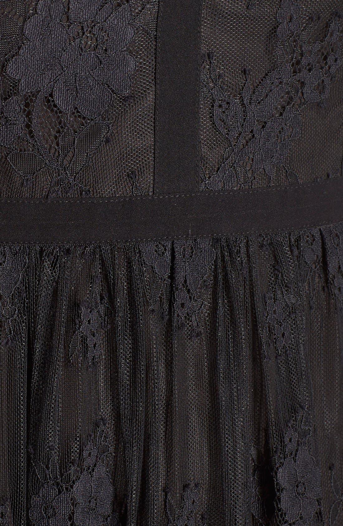 Alternate Image 5  - Parker 'Tesoro' Lace Fit & Flare Midi Dress