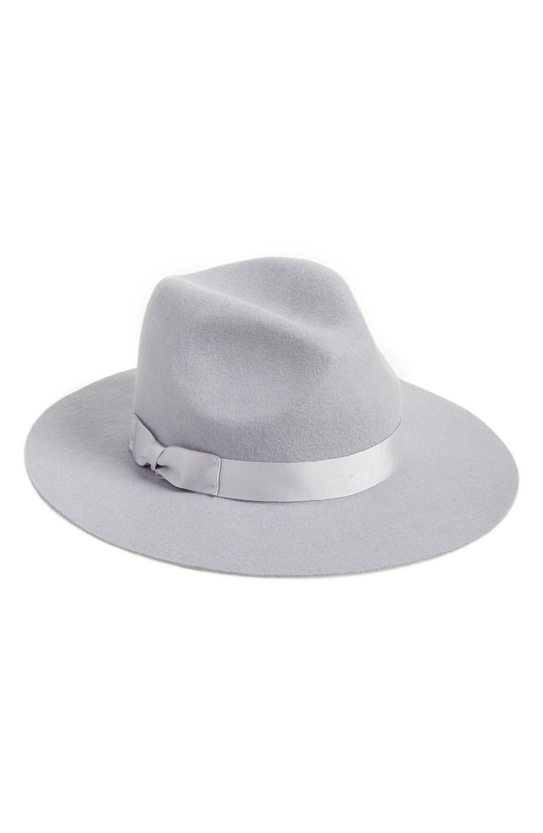 Main Image - Lack of Color 'The Silver Haze' Felted Wool Fedora