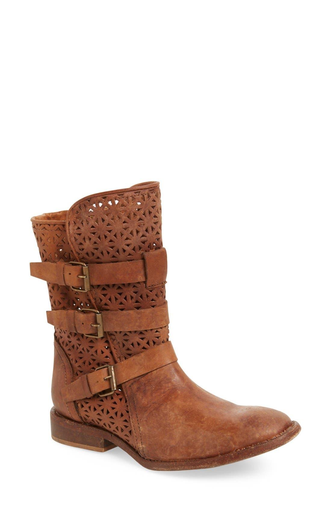 Main Image - Matisse 'National' Perforated Moto Boot (Women)