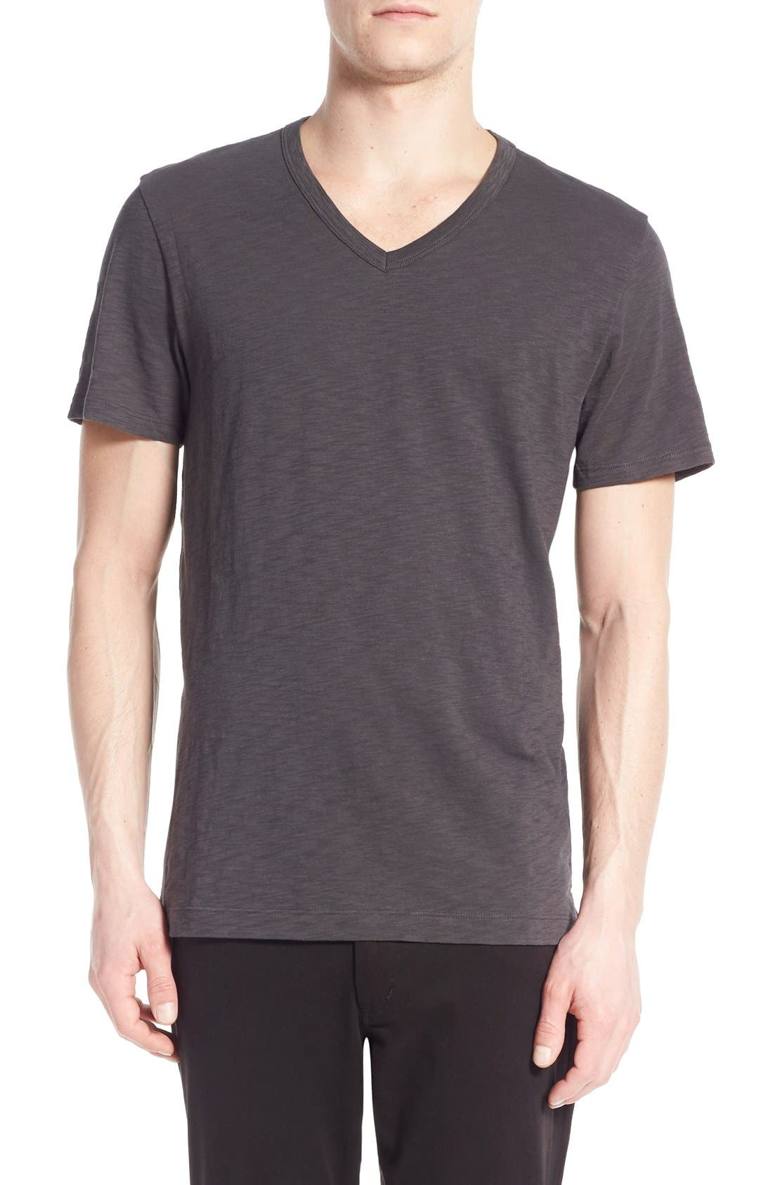 Vince Slub V-Neck T-Shirt
