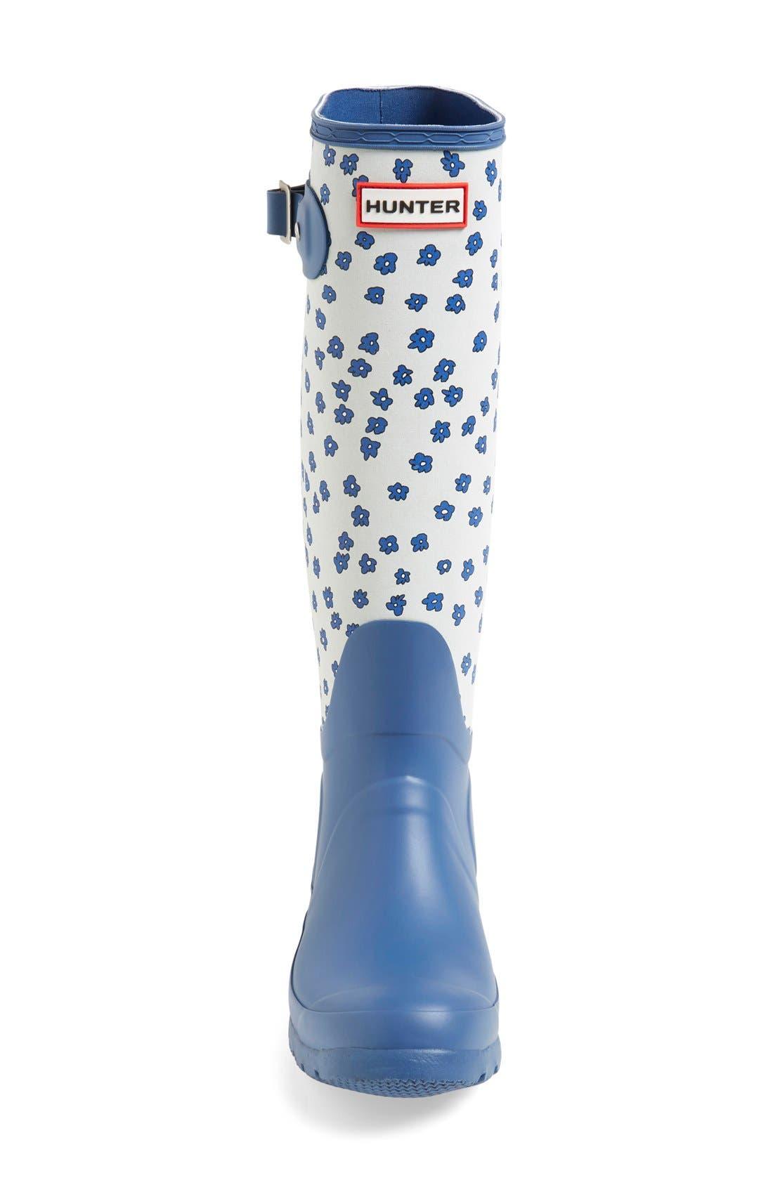 Alternate Image 3  - Hunter 'Original Tall - Festival Floral' Rain Boot (Women)