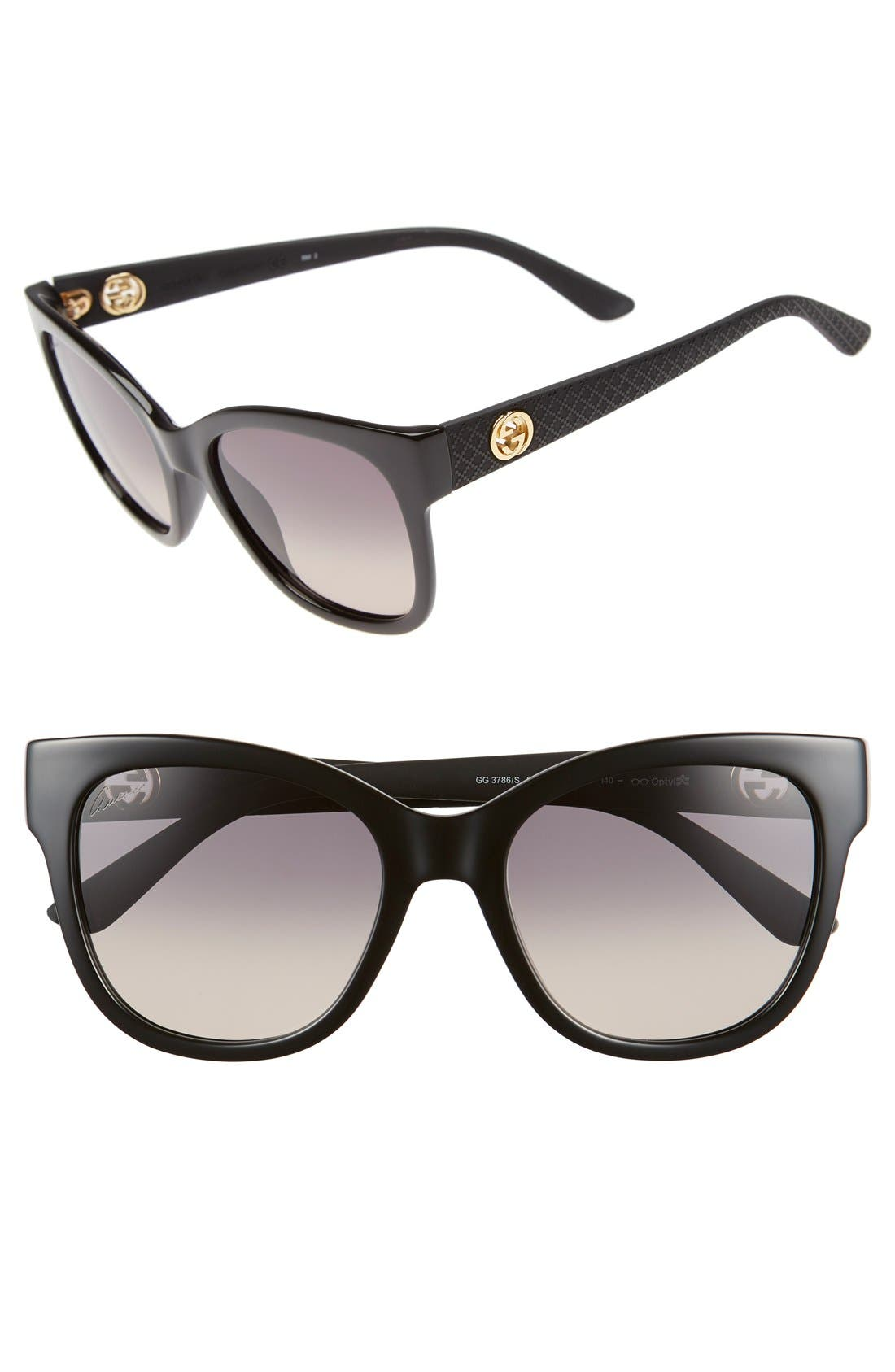 Alternate Image 1 Selected - Gucci 54mm Sunglasses
