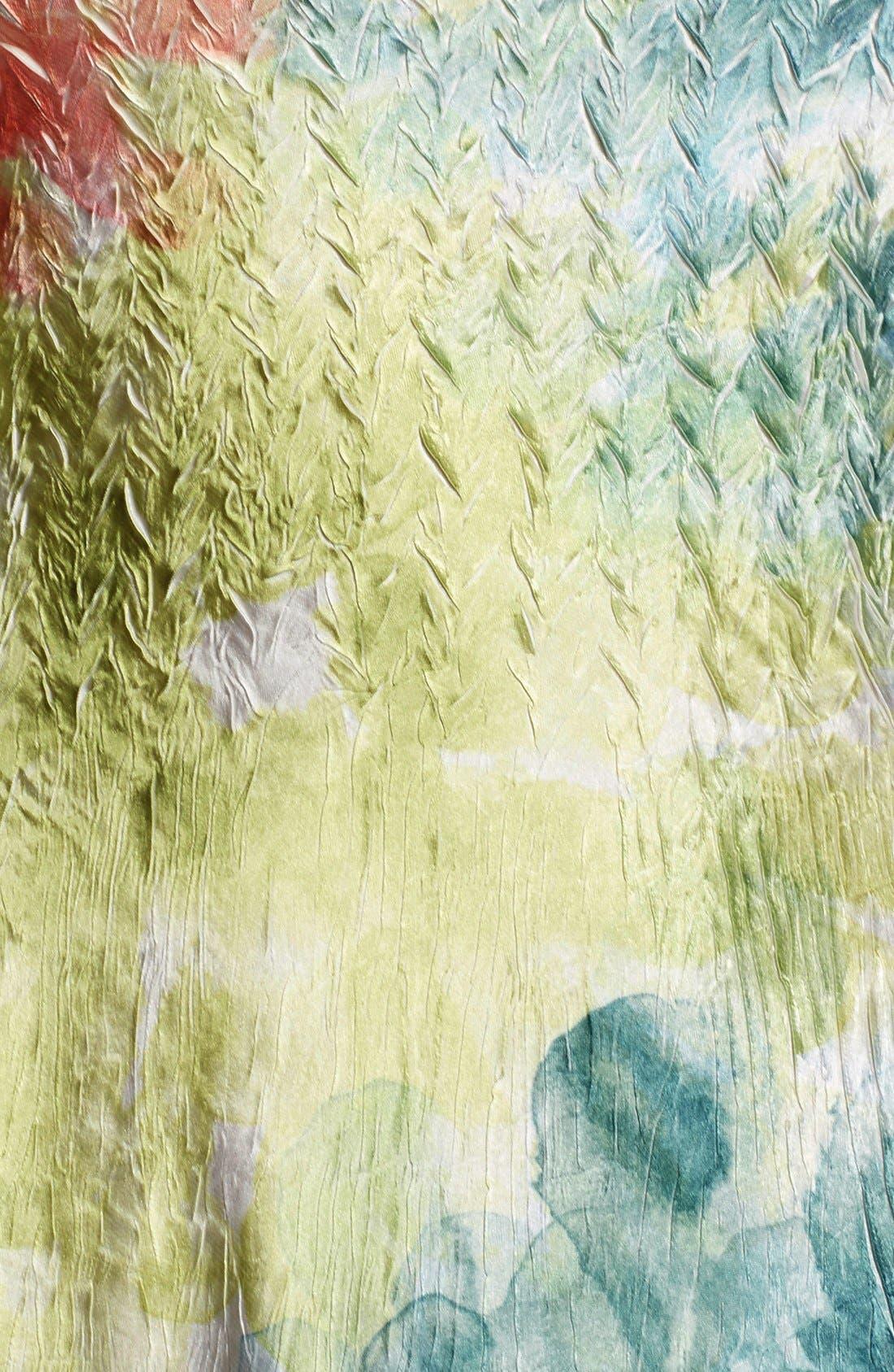 Alternate Image 5  - Komarov Mixed Media A-Line Dress (Regular & Petite)