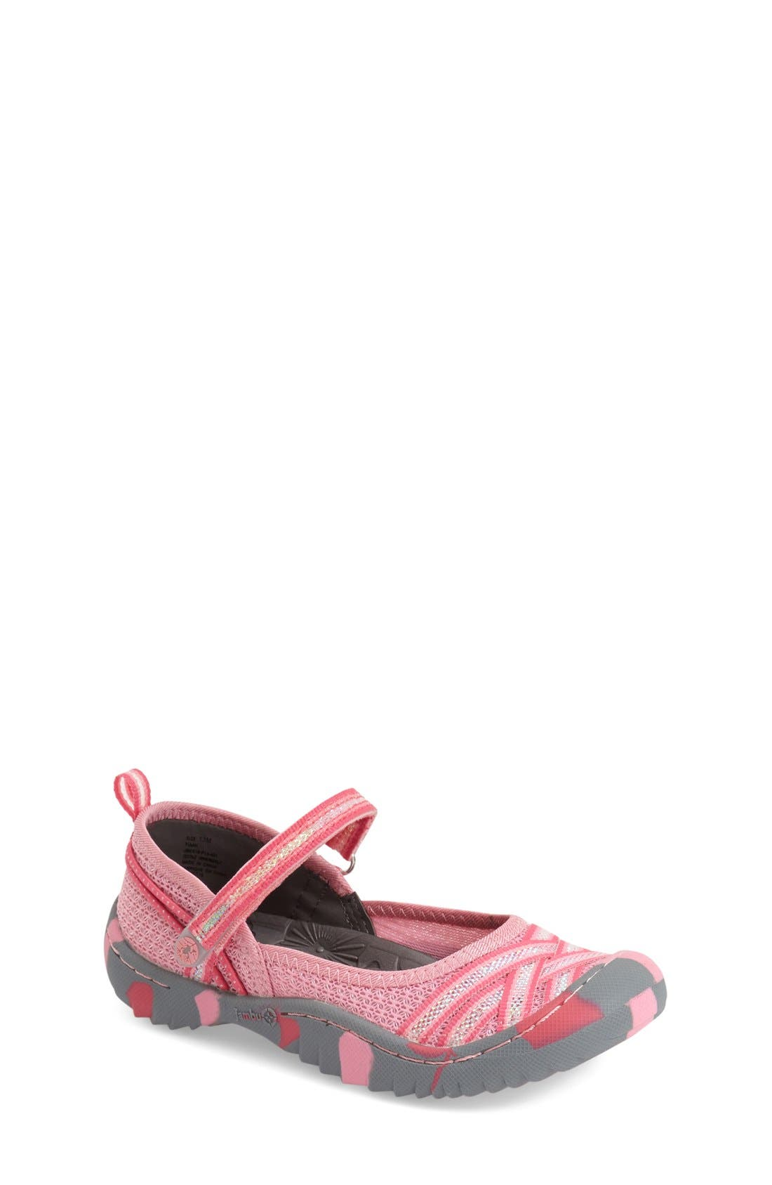 JAMBU 'Fia 4H' Water Repellent Mary Jane Flat