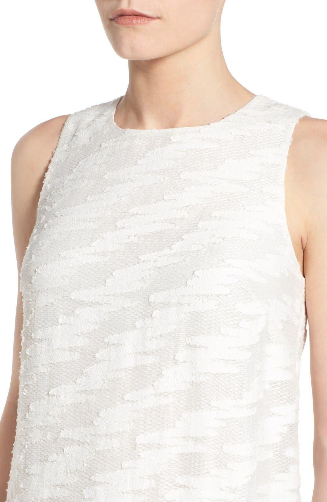 Alternate Image 4  - Halogen® Lace Detail Sheath Dress (Regular & Petite)