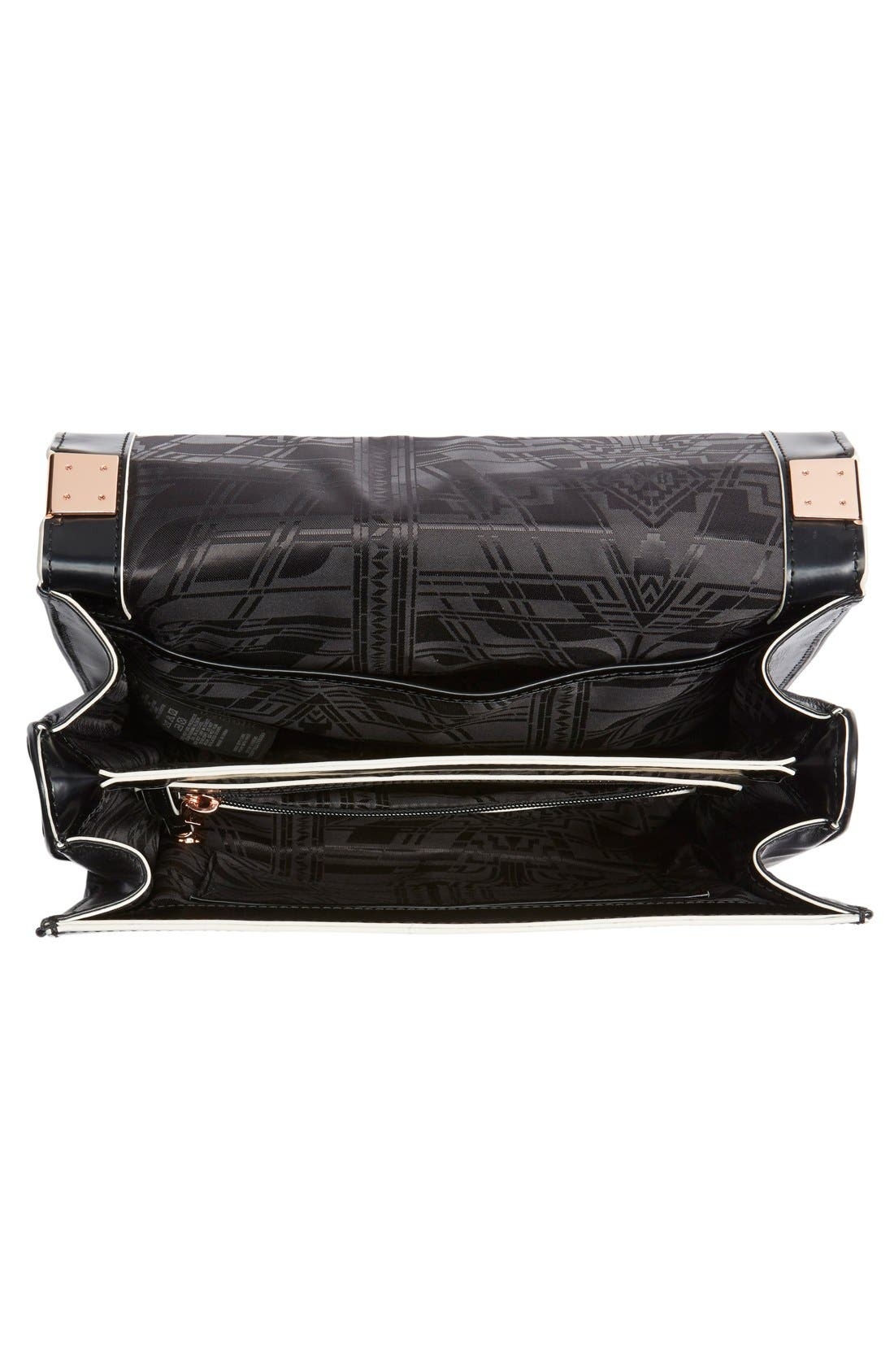 Alternate Image 4  - Ted Baker London Leather Shoulder Bag