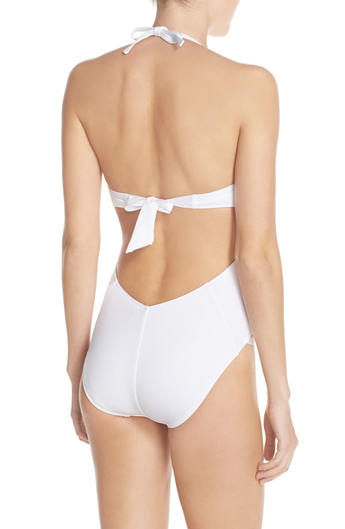 Alternate Image 2  - Kenneth Cole New York 'Stompin' Push-Up One-Piece Swimsuit