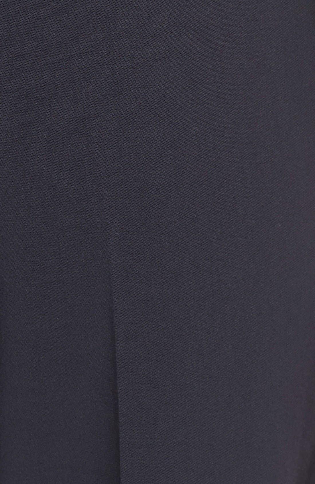Alternate Image 3  - Armani Collezioni Straight Leg Featherweight Wool Pants