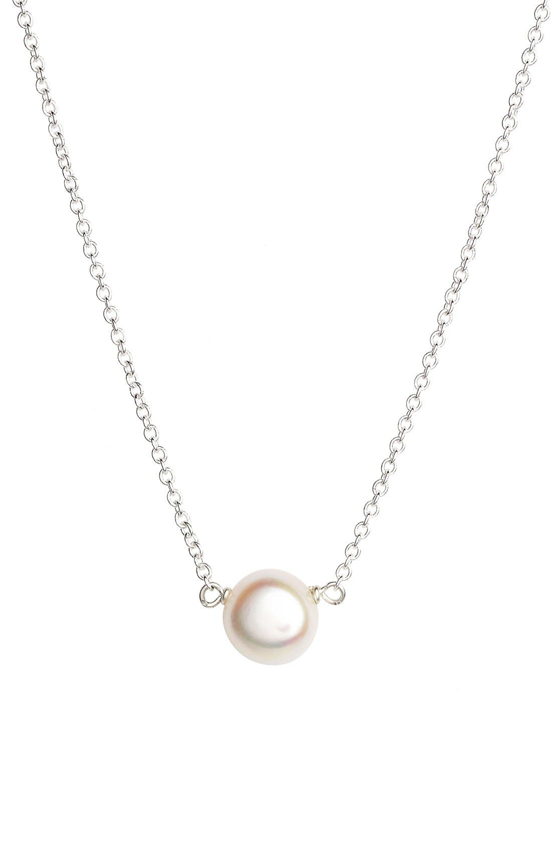 Alternate Image 2  - Dogeared Pearl Pendant Necklace (Nordstrom Exclusive)