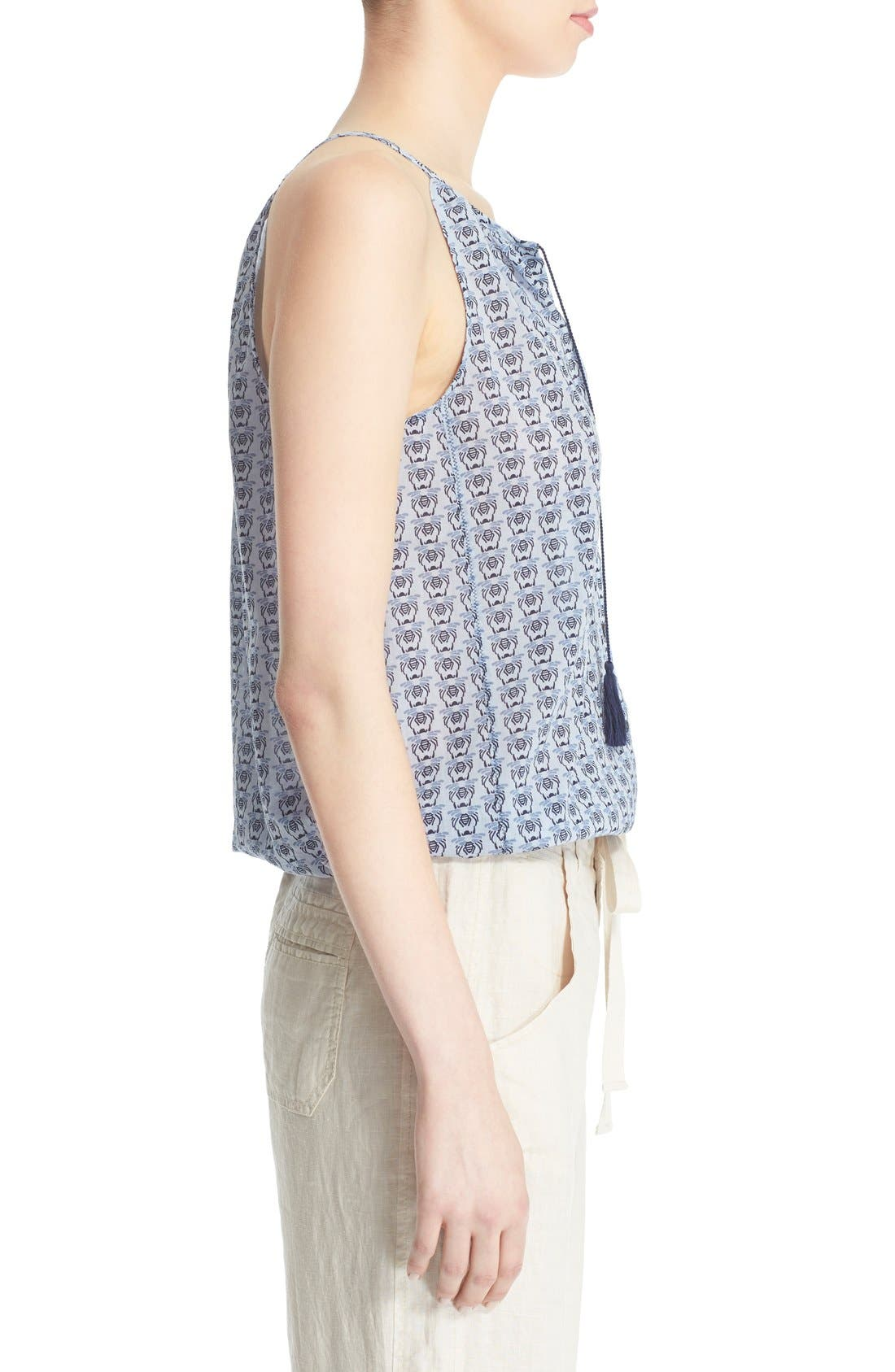 Alternate Image 4  - Joie 'Danielle B' Bee Print Silk Tank