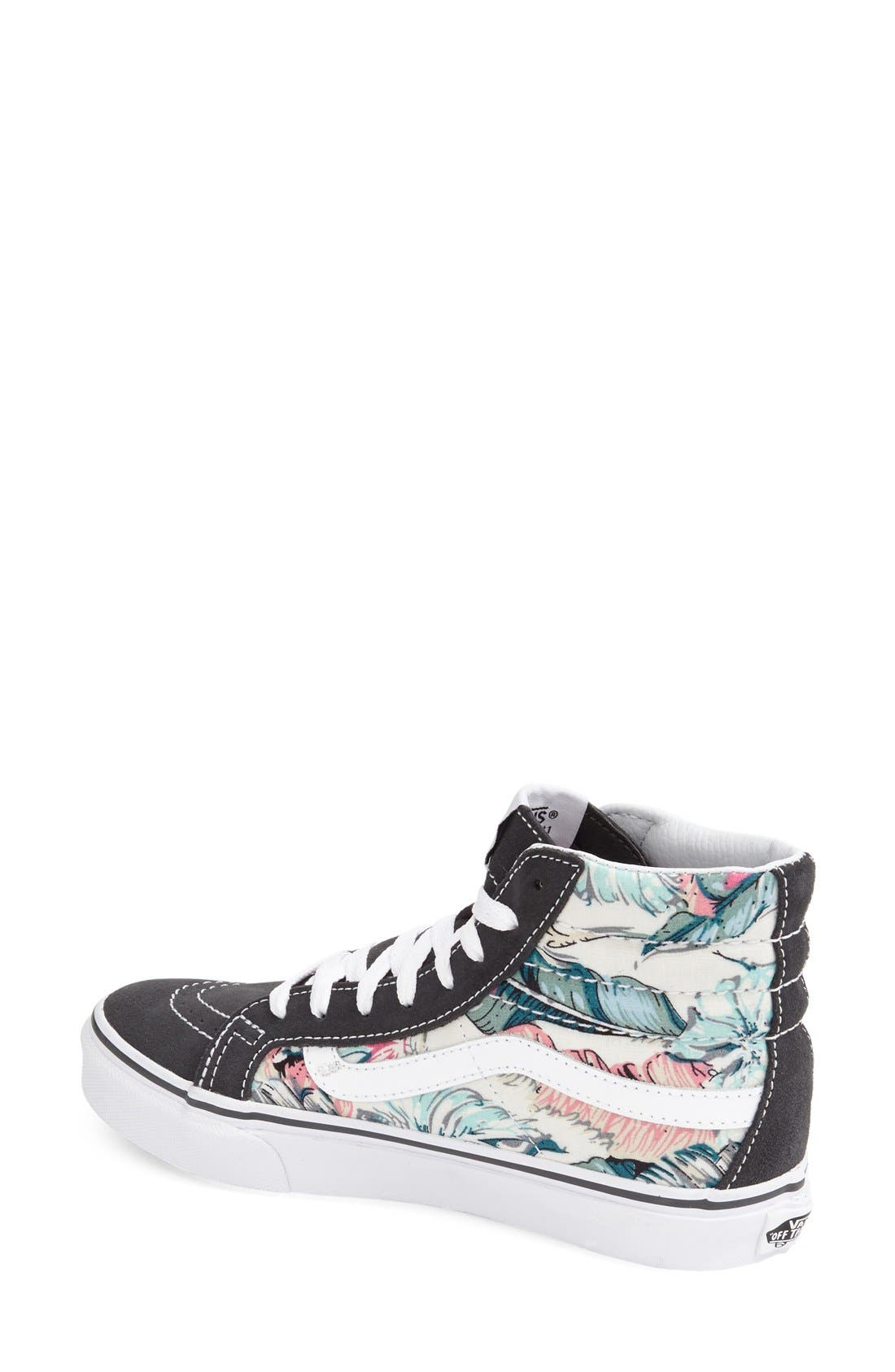 Alternate Image 2  - Vans Sk-8 Hi Slim Sneaker (Women)