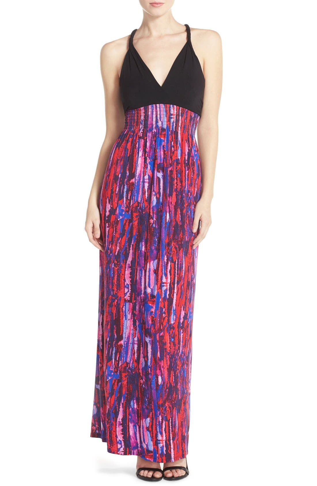 Alternate Image 1 Selected - Felicity & Coco Printed Maxi Dress (Regular & Petite) (Nordstrom Exclusive)