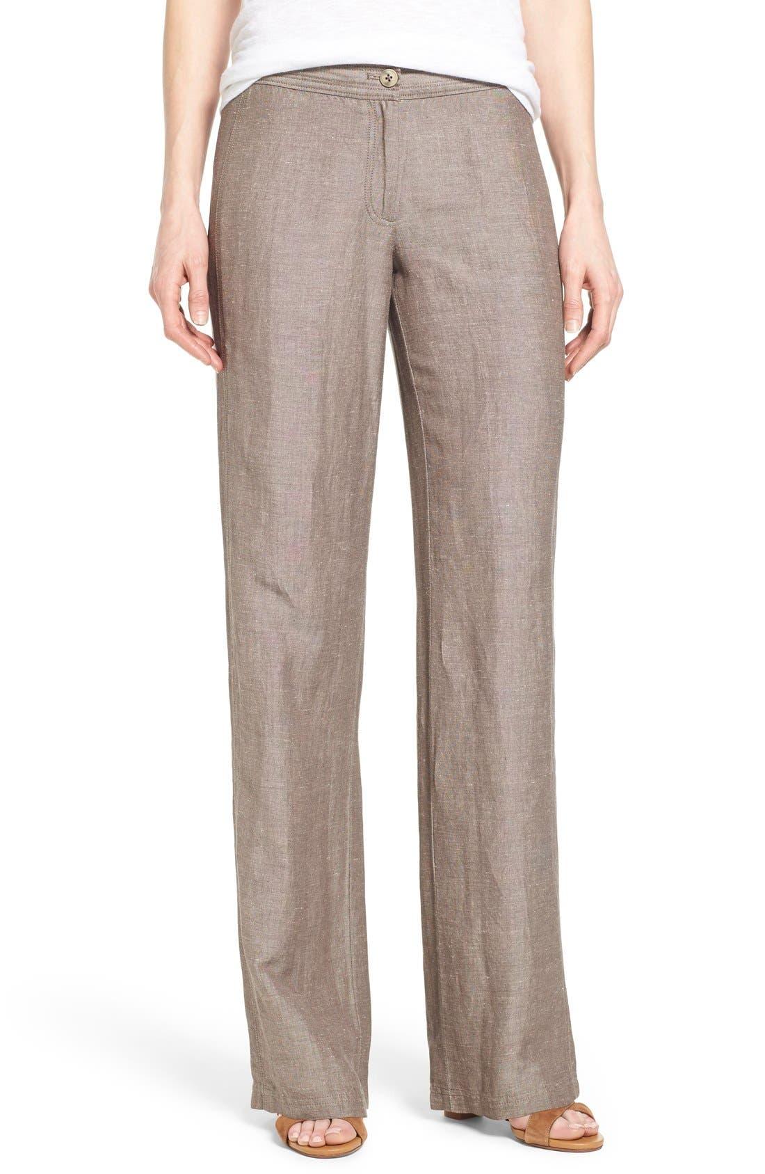 NIC+ZOE 'Easy' Linen Blend Wide Leg Pants