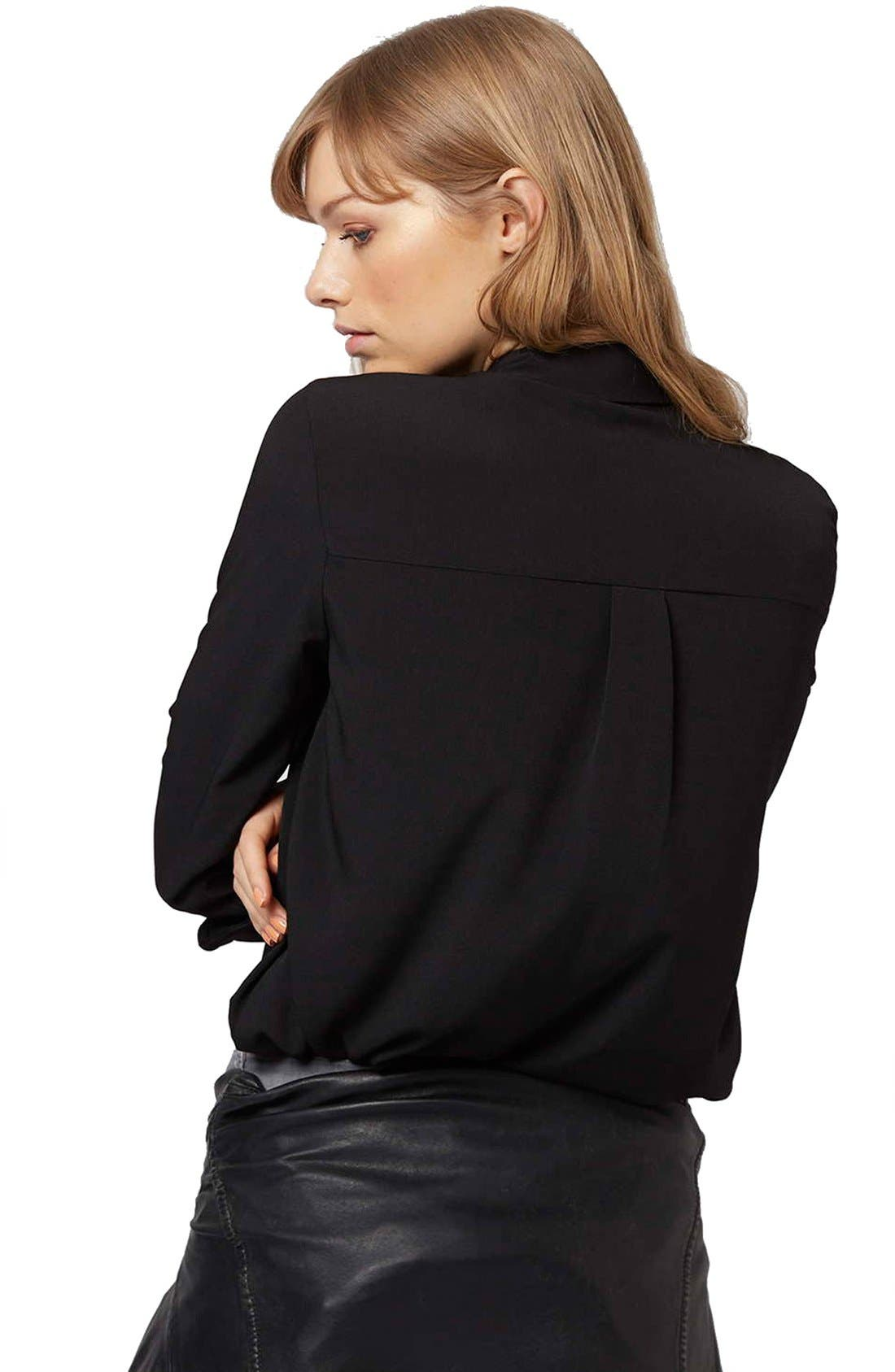 Alternate Image 3  - Topshop 'Sandy Olivia' Button Down Shirt