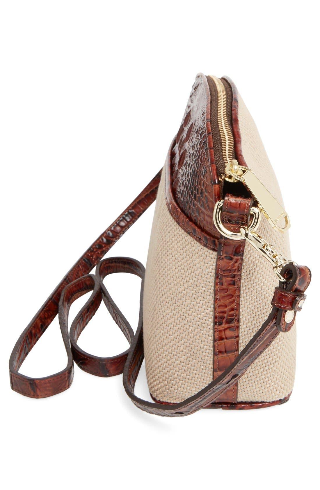 Alternate Image 5  - Brahmin 'Mini Duxbury' Woven Crossbody Bag