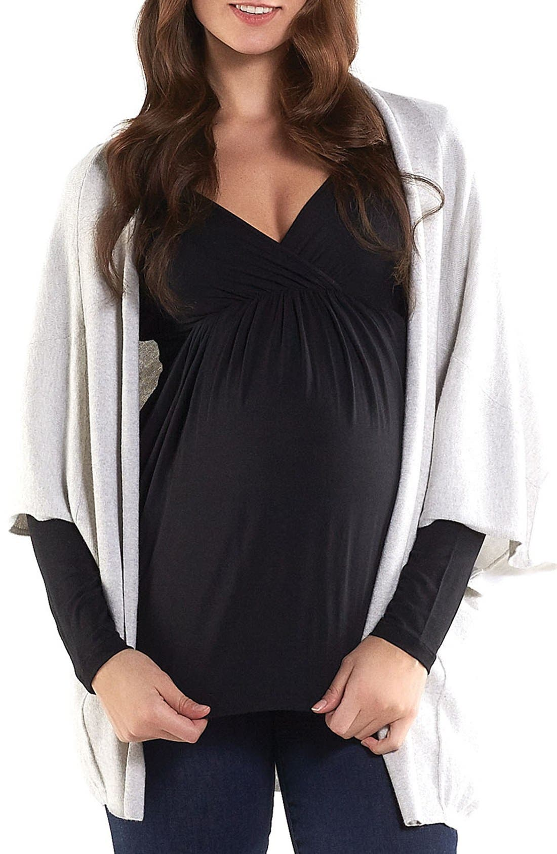 Tart Maternity 'Harlyn' Cotton & Cashmere Maternity Wrap Cardigan