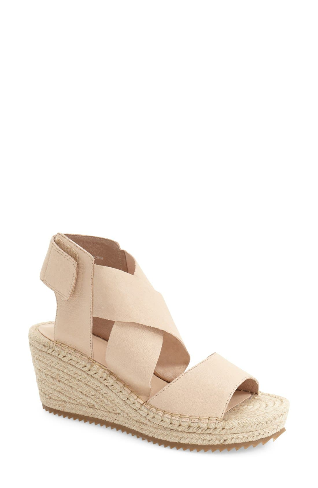 Eileen Fisher 'Willow' Espadrille Wedge Sandal (Women)