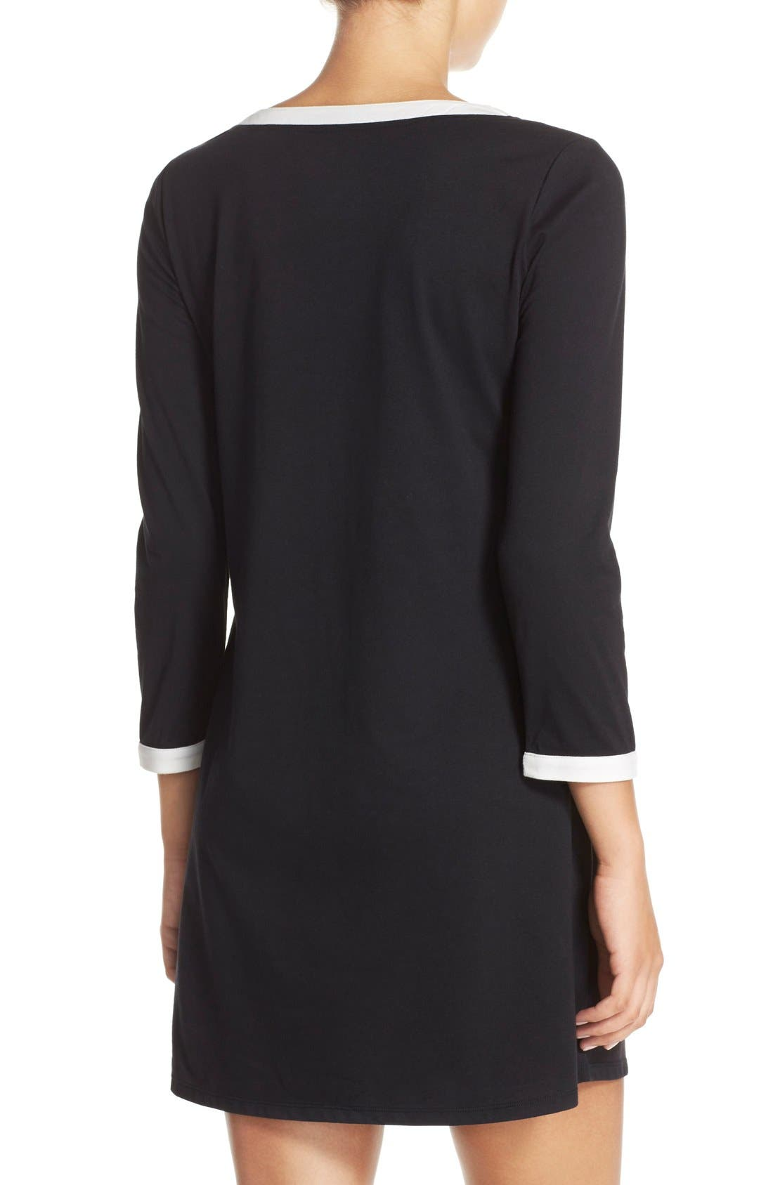 Alternate Image 2  - kate spade new york graphic sleep shirt