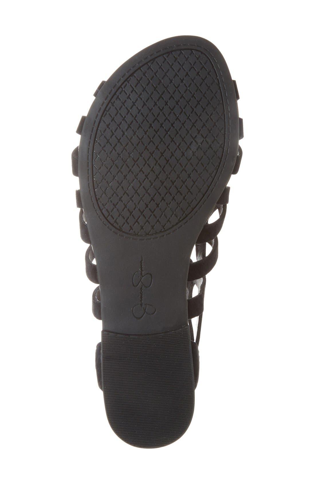 Alternate Image 4  - Jessica Simpson 'Karalia' Ghillie Sandal (Women)