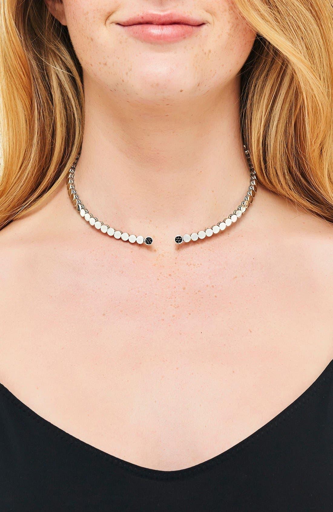 Alternate Image 2  - John Hardy 'Dot' Silver Necklace