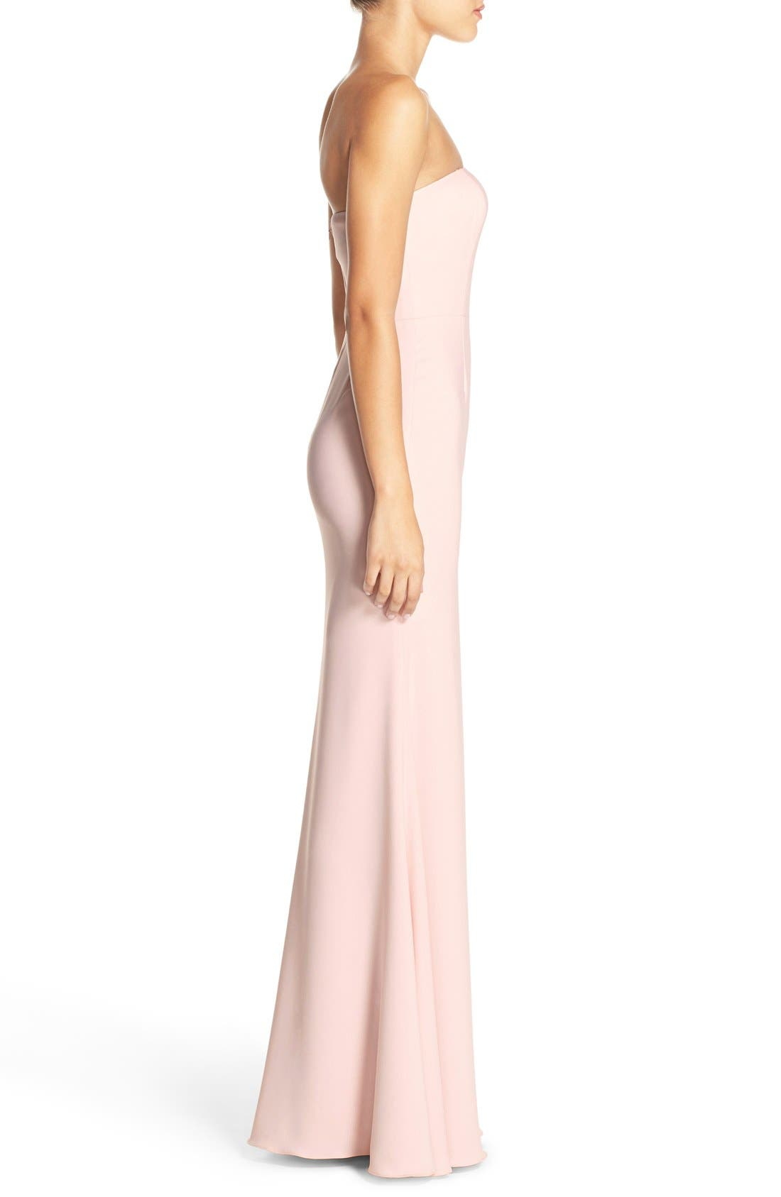 Alternate Image 3  - Jay Godfrey Strapless Cutout Gown