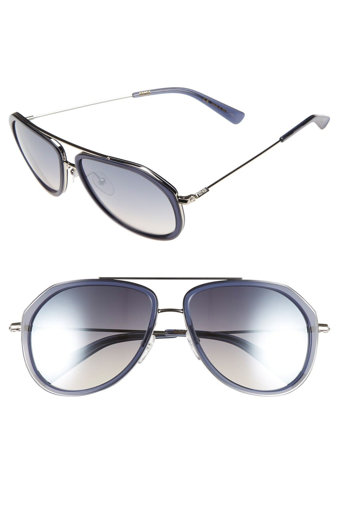 MCM 58mm Aviator Sunglasses