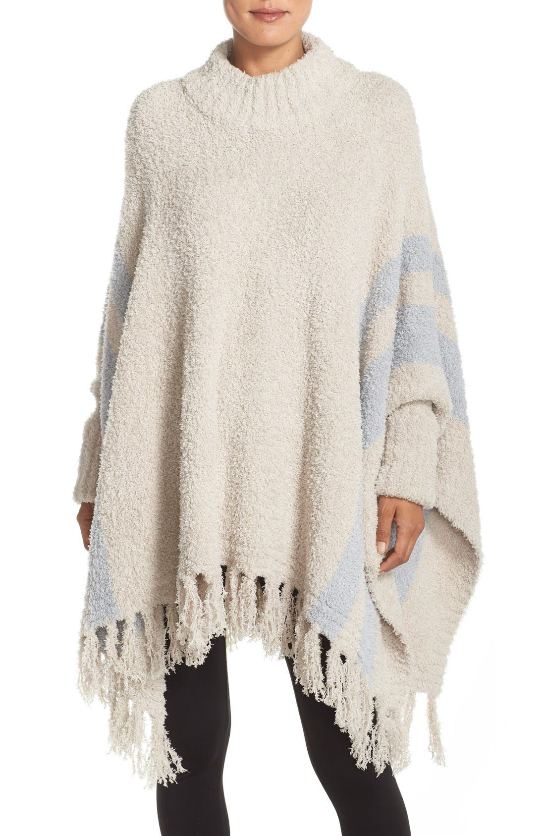 Barefoot Dreams® 'Cozy Chic® Beach' Fringe Lounge Poncho
