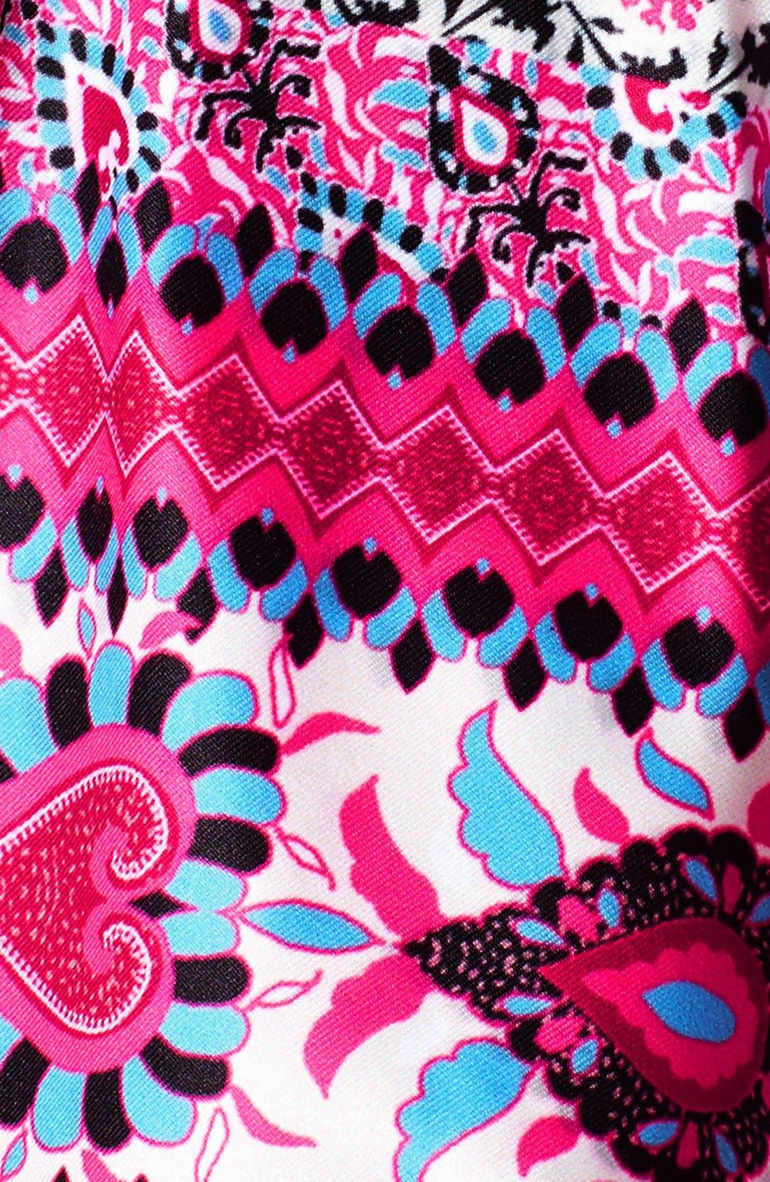 Alternate Image 7  - Becca Etc. 'Secret Garden' Halter Bikini Top (Plus Size)