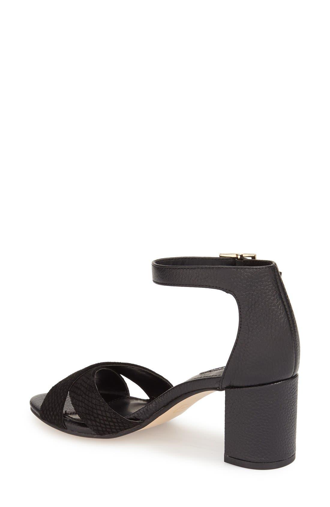 Alternate Image 2  - Dune London 'Imelda' Block Heel Ankle Strap Sandal (Women)