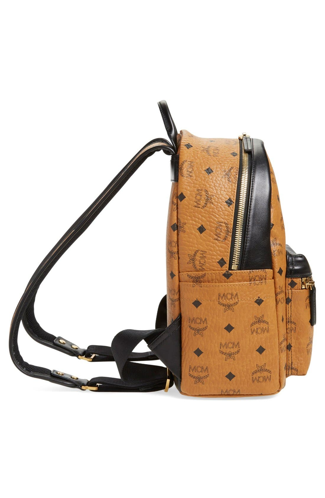 Alternate Image 5  - MCM Backpack 'Small Stark' Coated Canvas Backpack (Nordstrom Exclusive)