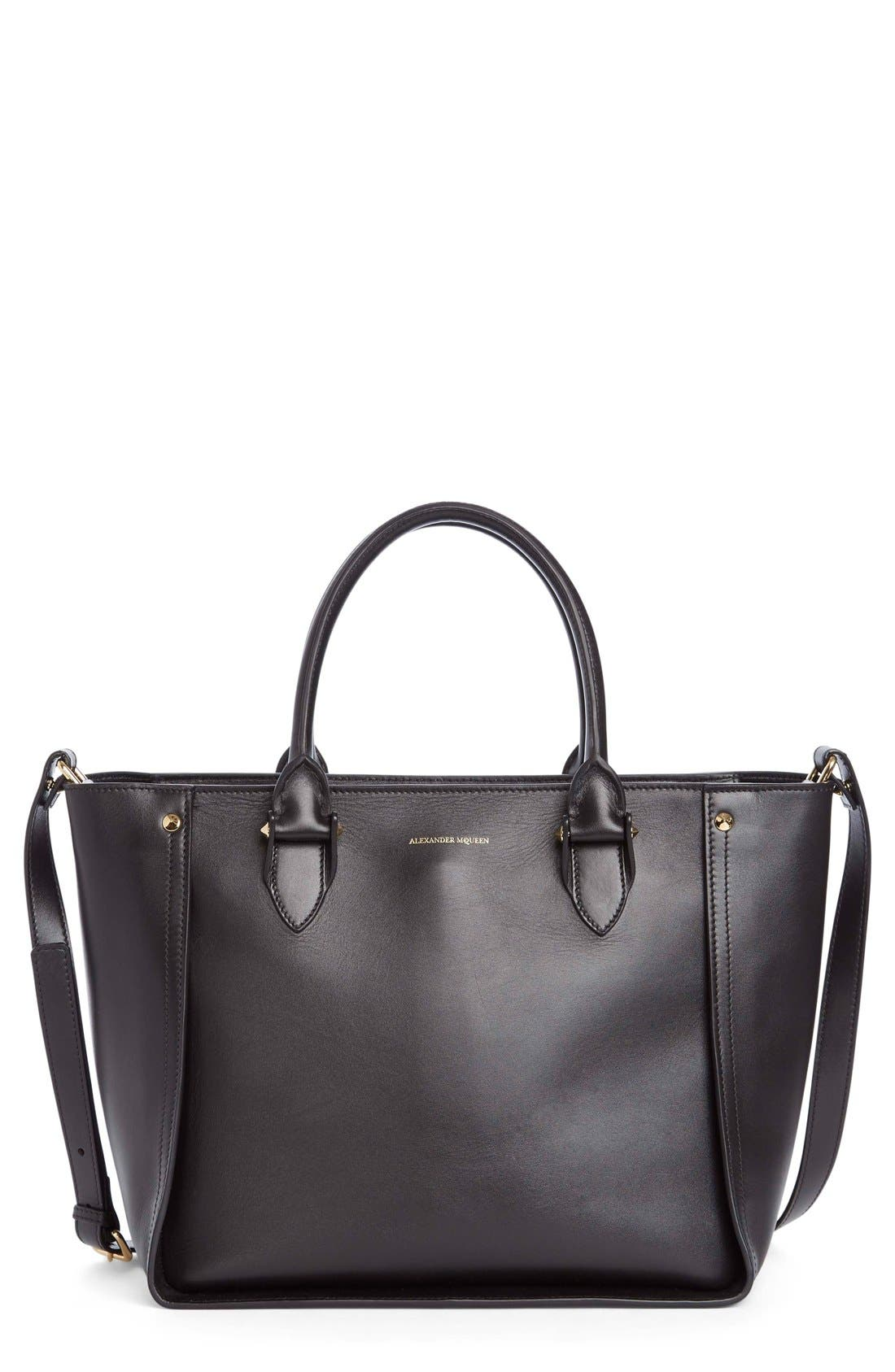 Alexander McQueen 'Inside Out' Leather Shopper