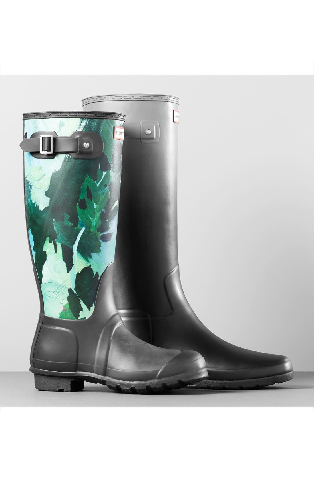 Alternate Image 5  - Hunter 'Original Tall - Botanical' Rain Boot (Women)
