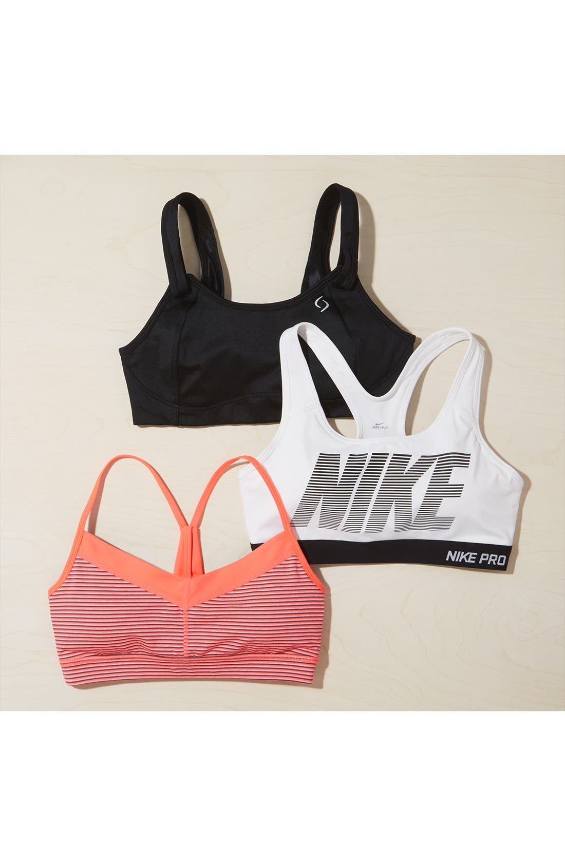 Alternate Image 7  - Nike 'Pro - Classic' Dri-FIT Padded Sports Bra